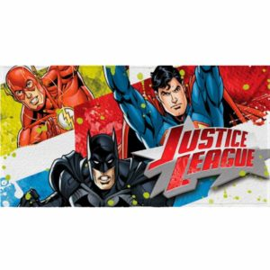 Toalha Infantil <br/> Justice League Lepper