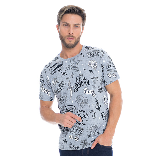 Camisa Tatto Collection Sba