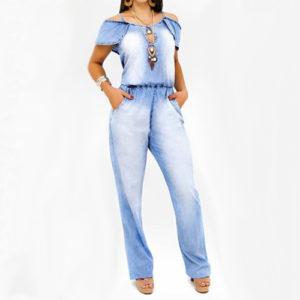 Macacão Longo Ciganinha</br> Nattus Jeans