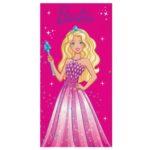 Toalha Barbie <br/> Aveludada Lepper