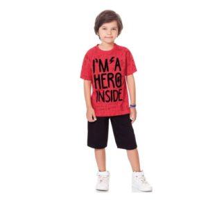 Conjunto Infantil </br> Hero Inside Fakini