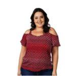 Blusa Plus Size </br> Habana Cativa