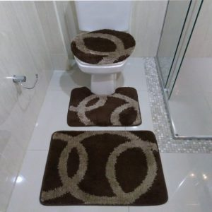 Jogo de Banheiro Argolas </br> Van Gogh Jolitex