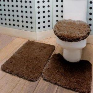 Jogo de Banheiro Liso </br> Riviera Jolitex